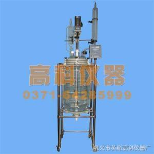 100L双层玻璃反应器