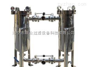 浙江不銹鋼雙聯袋式過濾器價格
