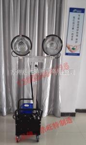 輕型升降泛光燈 帶發電機輕便型移動升降泛光工作燈