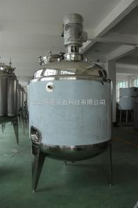 1500L不锈钢乳化罐