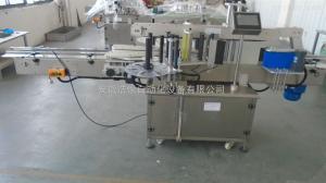 TM-2150全自动奥妙洗衣液贴标机 双面 圆瓶高速贴标机