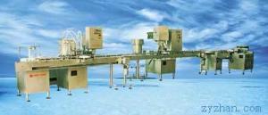 YZ25/500液體灌裝線