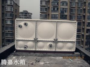 1-2000腾嘉装配式玻璃钢水箱