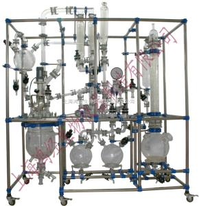 HJXT-30玻璃反應釜系統