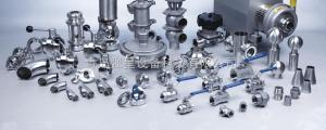 衛生級不銹鋼流體管道配件