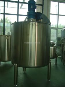 不锈钢洗洁精搅拌罐/液体搅拌罐/单层搅拌罐