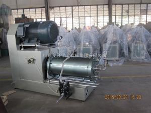 齊全山東龍興專制臥式砂磨機 技術先進 質量保證