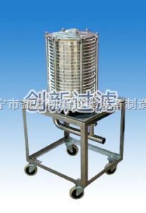 臥式方型板框過濾器
