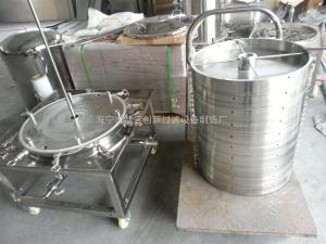 CT600不銹鋼精密板框過濾器