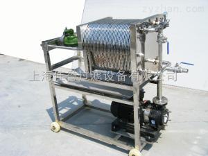 上海多層板框過濾器