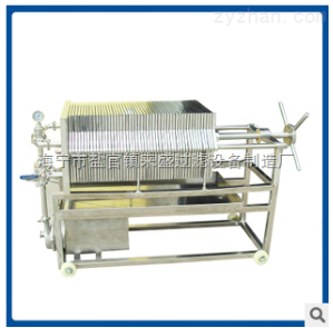 CT層疊式板框過濾器