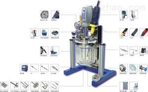 YK-1L實驗室真空乳化機|實驗室乳化反應釜