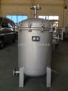 上海润岚不锈钢多袋式大流量过滤机 树脂化工过滤机