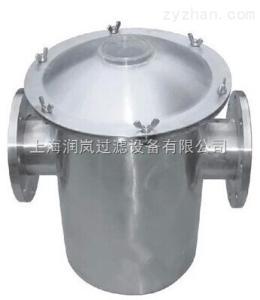 RL-200專業供應快開式毛發收集器、籃式過濾器,不銹鋼毛發聚集器