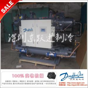 工业制冷螺杆式冷水机组 化工/食品/制药厂用300p冷水机工厂直销