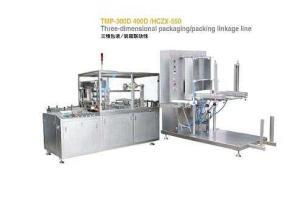 TMP-300D(400D)/HCZX-550三维包装/装箱联动线
