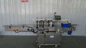TM-2160洗衣液桶高速貼標機    藍月亮 立白全自動洗衣液雙側面貼標機