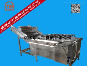 TSQX-6800 厂家供应金银花气泡清洗机(中药材清洗设备)