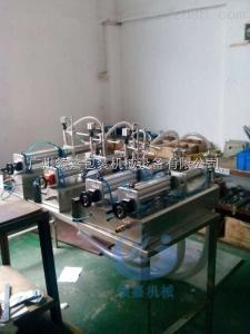 單頭批量生產半自動液體灌裝機