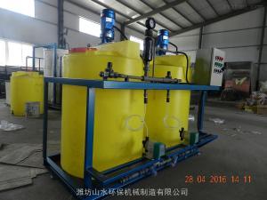 SK-JY赤水污泥脫水加藥裝置容易達標