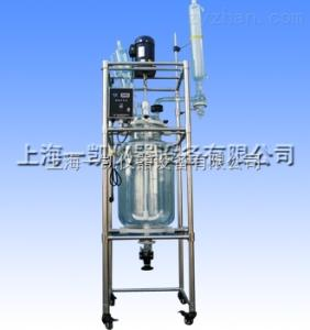 S212-80L 100L整套双层玻璃反应釜