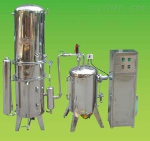 齐全嘉兴高效节能自脱垢蒸馏水机