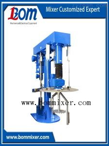BMSJ-T50-2000L供應寶冕BNSJ-T同心雙軸攪拌機中高粘度攪拌機膠黏劑攪拌機