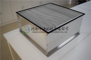 制藥企業潔凈廠房空調通風用HEPA級有隔板高效空氣過濾器