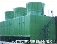 厂家供应方形逆流式玻璃钢冷却塔