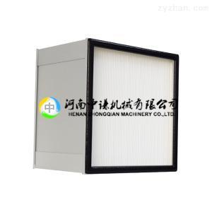90mm/150mm/292mm厚無隔板高效過濾器 (鋼板外框)(H13)