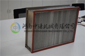 萬級無塵車間用耐350 oC 高溫有隔板高效過濾器H13