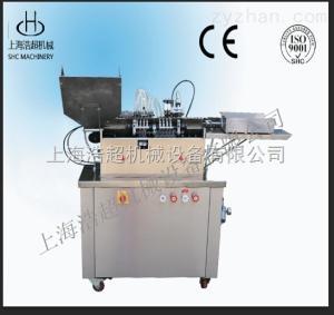 HCGF-1/2廠家直銷單針安瓿瓶拉絲灌封機灌裝封口機
