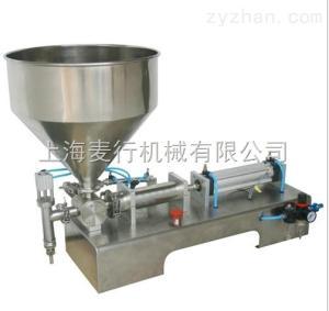 MH-G1301半自動臥式氣動膏體灌裝機