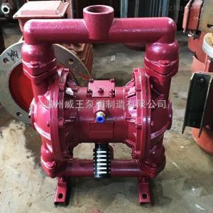 QBY型廠家供應鑄鐵QBY氣動隔膜泵 不阻塞耐腐蝕氣動隔膜泵