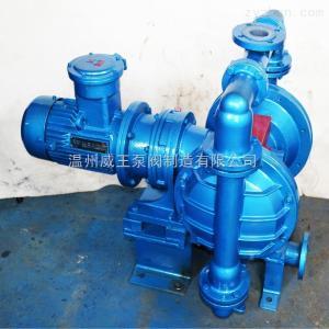廠家直銷隔膜泵DBY型不銹鋼材質隔膜泵 臥式電動隔膜泵