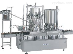 YG18/12液体回转灌装旋(轧)盖一体机