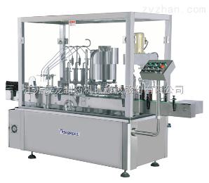 YG24/18型液体回转灌装旋(轧)盖一体机