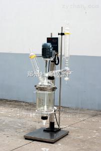 SF-10L厂家直销双层玻璃反应器 防爆