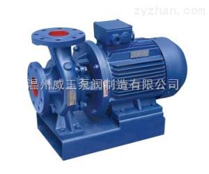 ISWRISWR臥式單級單吸熱水泵