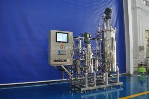15L150L自动灭菌两联机械搅拌不锈钢发酵罐