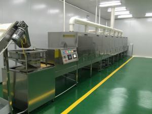 40KW河南黑豆黄豆红豆烘烤熟化机,微波五谷杂粮快速烘烤杀菌设备