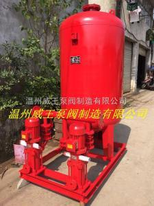 消防氣壓供水成套設備,星三角控制柜隔膜式氣壓罐消防成套設備