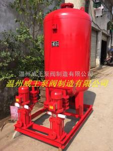 温州永嘉消防气压供水成套设备3C认证
