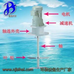 JBJ-700浆式潜水搅拌机 JBJ-700  防沉淀中和絮凝叶片搅拌机