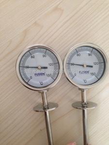 FUSIDE萬向型全不銹鋼雙金屬溫度計
