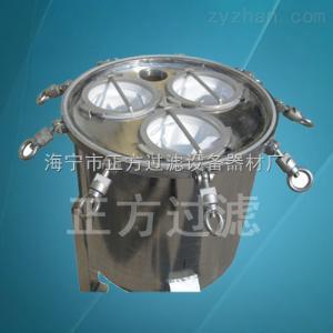 保溫加熱袋式過濾機器