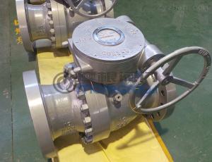 Q347N-600LB鑄鋼固定式球閥
