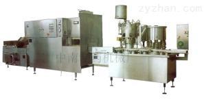 DGZ8型口服液洗烘灌裝軋聯動機