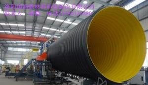 dn300-2400mm住宅污水排放钢带波纹管道