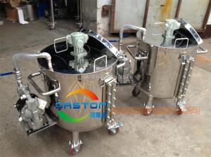 不銹鋼桶氣動防爆攪拌機、涂料氣動攪拌機